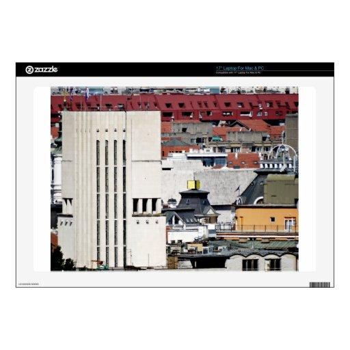 ventanas de la ciudad portátil 43,2cm skins