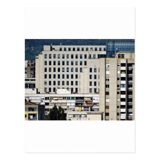 ventanas de la ciudad postal