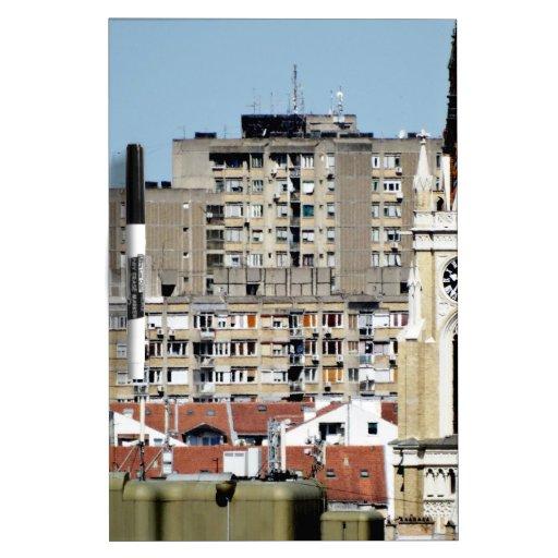 ventanas de la ciudad tablero blanco