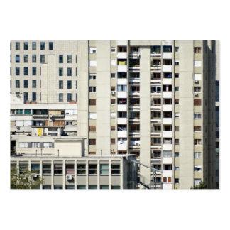 ventanas de la ciudad plantilla de tarjeta de negocio