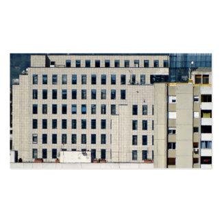 ventanas de la ciudad tarjeta de negocio