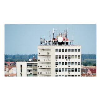 ventanas de la ciudad tarjeta de visita