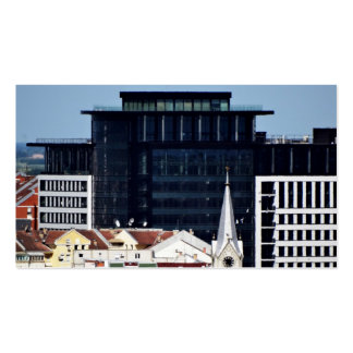 ventanas de la ciudad tarjetas de visita