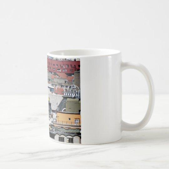 ventanas de la ciudad taza de café