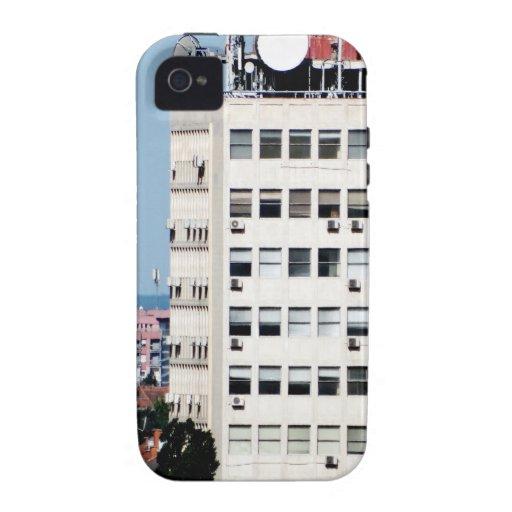 ventanas de la ciudad vibe iPhone 4 carcasa