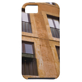 Ventanas del apartamento, Roma, Italia iPhone 5 Carcasas