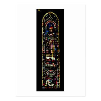 Ventanas del norte del transept; el rosa tarjetas postales