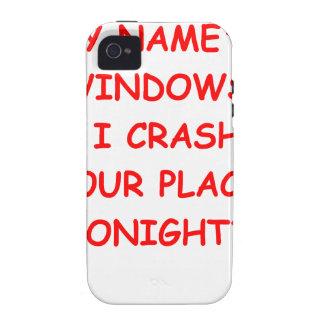 ventanas iPhone 4/4S carcasas
