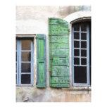 ventanas mediterráneas membrete a diseño