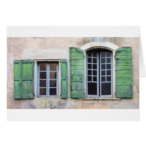 ventanas mediterráneas tarjeta