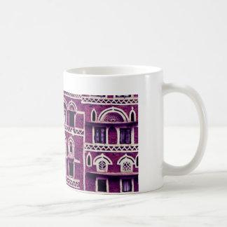 Ventanas púrpuras taza