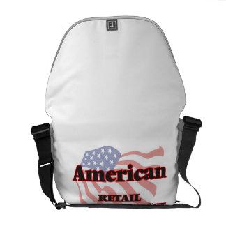 Ventas al por menor americanas auxiliares bolsa messenger