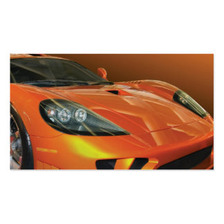 Ventas autos y servicio del alto rendimiento tarjetas de visita