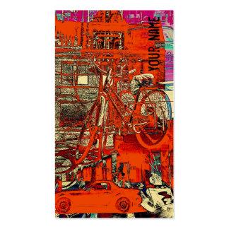 Ventas de la bicicleta - plantilla de la tarjeta d tarjetas de visita