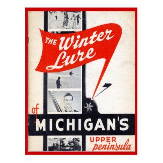 Ventas del vintage, Michigans, península superior Postales