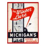 Ventas del vintage, Michigans, península superior Tarjetas Postales