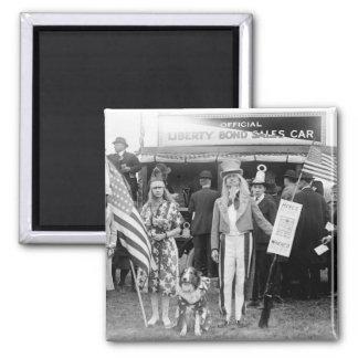 Ventas Estrella-Spangled: 1918 Imanes