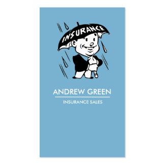 Ventas modernas del seguro de la tarjeta de visita