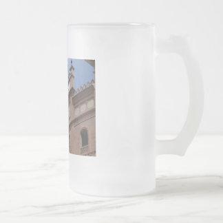 VENTAS 16 OZ FROSTED GLASS BEER MUG