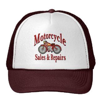 Ventas y reparaciones de la motocicleta gorra
