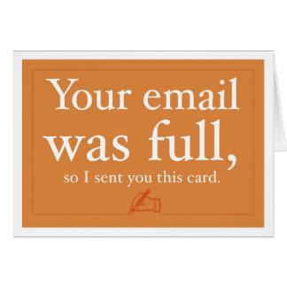 Ventas y tarjeta de la prospección - su correo ele
