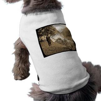 Ventilador suizo del cuerno de las montañas de la  ropa para mascota