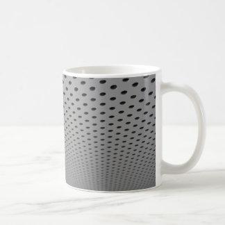 Ventilation grill panel coffee mug