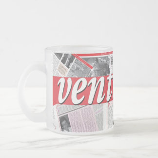 Ventirighe Frosted Glass Mug