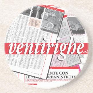 Ventirighe.it: Sottobicchiere de IL Posavaso Para Bebida