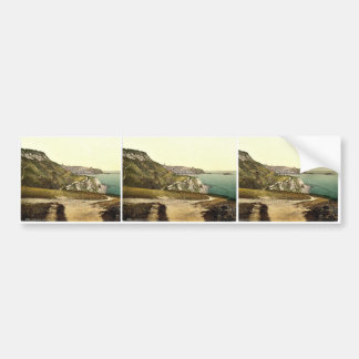 Ventnor, cliff walk, Isle of Wight, England rare P Bumper Sticker