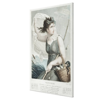 Ventose , sixth month of the Republican Canvas Print