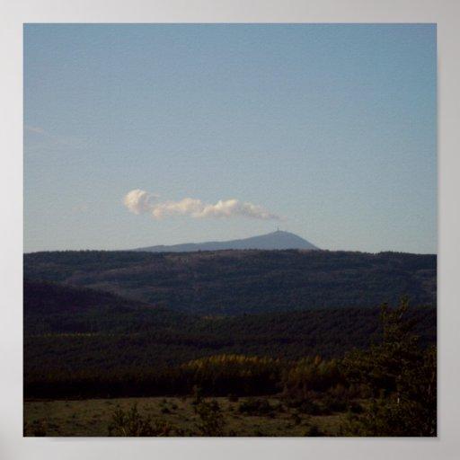 ¿Ventoux volcano? Posters