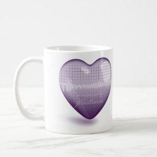 Ventricular Fibrillation and Sinus Rhythm Coffee Mug