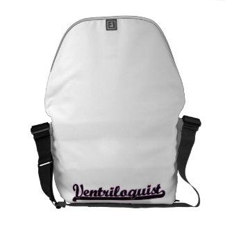 Ventriloquist Classic Job Design Courier Bags