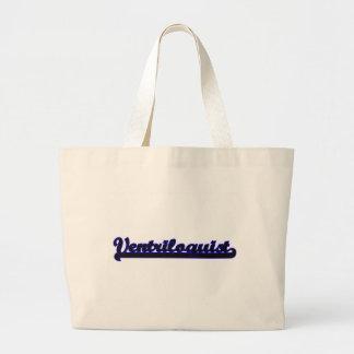Ventriloquist Classic Job Design Jumbo Tote Bag
