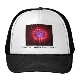 Ventris arrastra el gorra de los fuegos artificial