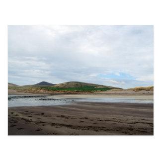 ventry beach - tidal river postcard