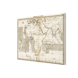 Vents Afrique Canvas Print
