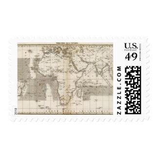 Vents Afrique Postage Stamp