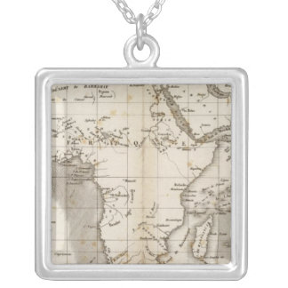 Vents Afrique Silver Plated Necklace