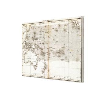 Vents Ocean Pacifique Canvas Print