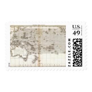Vents Ocean Pacifique Stamp