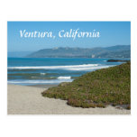 Ventura, California el Pacífico y playa Tarjeta Postal