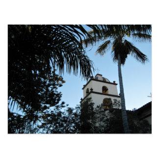 Ventura, California, Mission Postcard