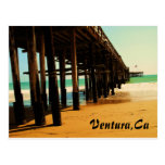 Ventura California Pier Postcard