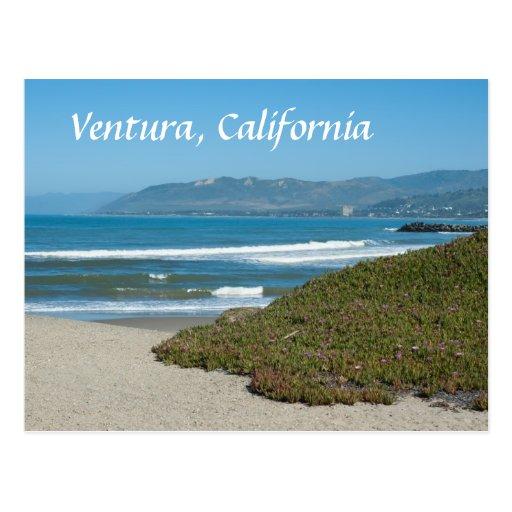 Ventura, California Postcard