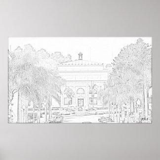 Ventura City Hall Print