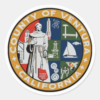 Ventura County Seal Sticker