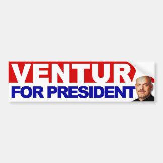 Ventura for President - Basic Red an Blue Car Bumper Sticker