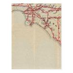 Ventura, Los Ángeles, San Bernardino, naranja Postal